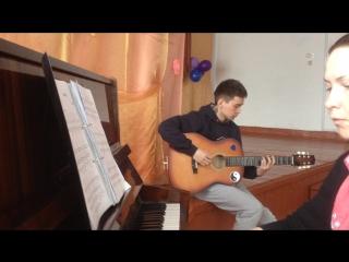Nickelback - Savin Me (Piano&Guitar)