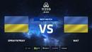 Spray'n'pray vs Windigo Academy map 2 mirage WESG 2018 Ukraine Qualifier 1