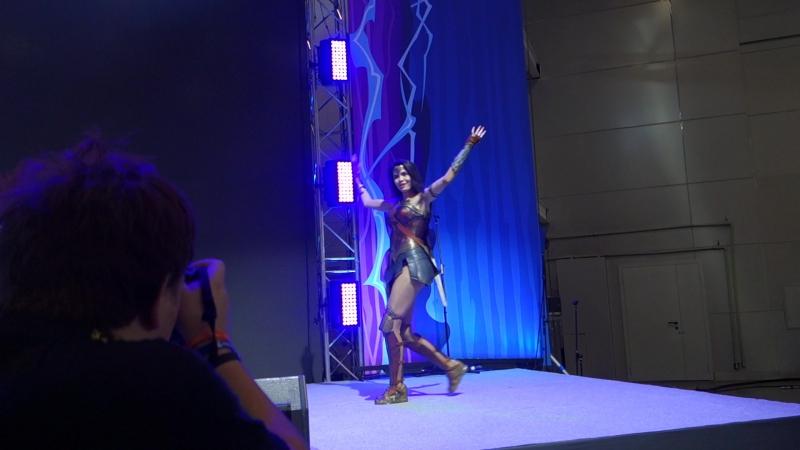 конкурс по лиге справедливости на ComicCon