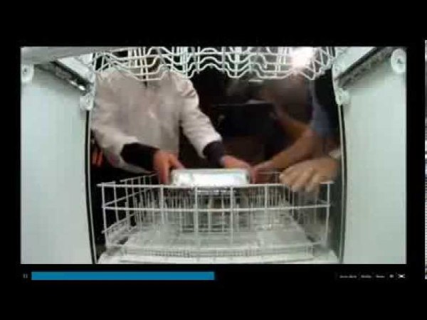 Mythbusters - Cooking Lasagna with Dishwasher