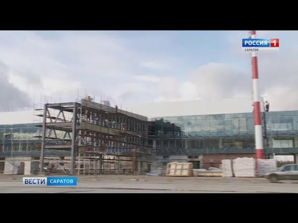 Сроки достройки аэропорта обсудили на встрече Вячеслав Володин и Виктор Вексельберг
