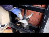 Chery Amulet A15 (Чери Амулет) замена подшипника передней ступицы