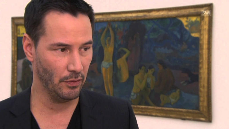 Keanu Reeves brought in to launch Gauguin show