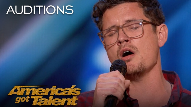 Michael Ketterer: Father Of 6 Scores Golden Buzzer From Simon Cowell - America's Got Talent 2018