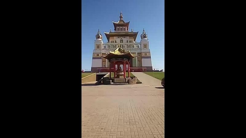 Буддистский храм в Элисте!