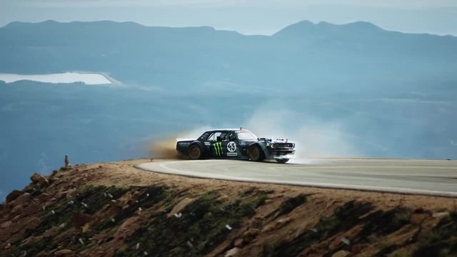 Drift in the mountains (part 2) coub