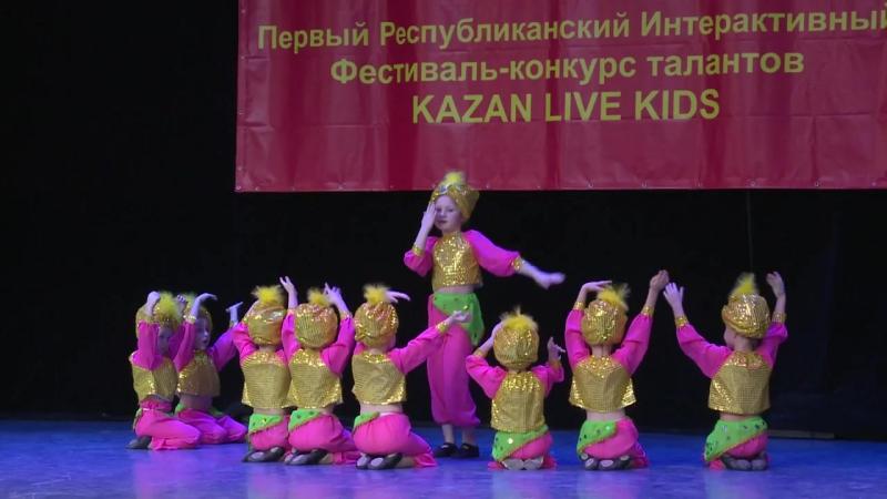 Хореографический коллектив Star Kids_kazanlivekids