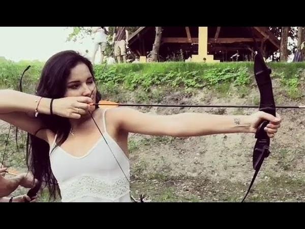 Модель Chira Kovalsky (Archery on PetroFest 2018. The base of family rest Volny)