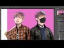 BTS VKOOK Speed Art Photoshop