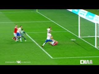 Сборная России - сборная Чехии. Гол Томаша Соучека