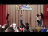 Танец от учащихся 5 классов в стиле хип-хоп. Школа 1293 к. 3.