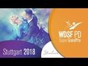 Vezelis Chatkeviciute LTU 2018 PD GP STD Stuttgart R2 Q DanceSport Total