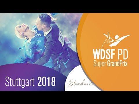 Vezelis - Chatkeviciute, LTU   2018 PD GP STD Stuttgart   R2 Q   DanceSport Total