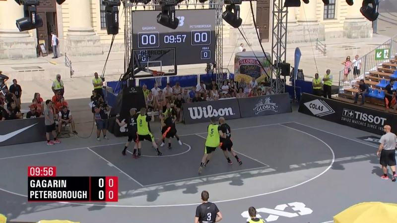 FIBA 3x3 World Tour 2018: Debrecen - Gagarin VS. Peterborough (30-08-2018)