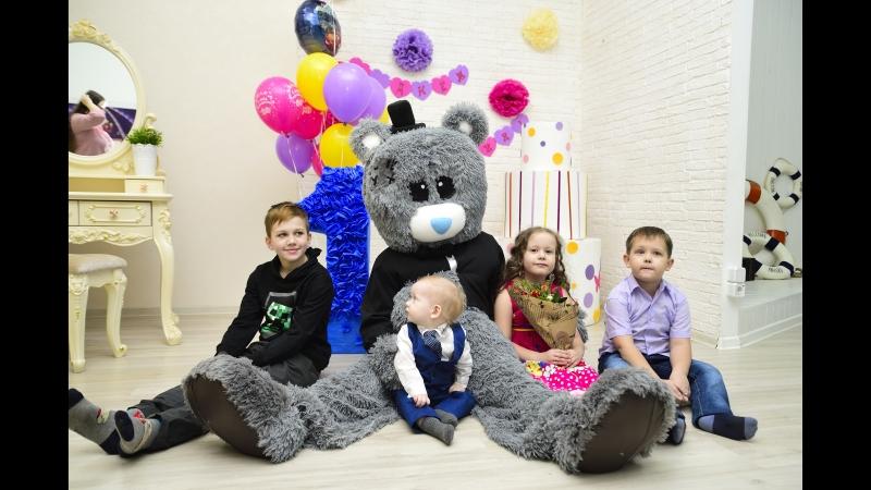 Мишка Тедди на день Рождения малыша!