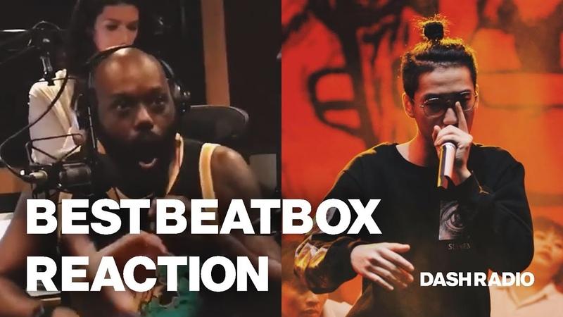 Best Beatbox reaction ever 😂 - Trung Bao at DASH Radio