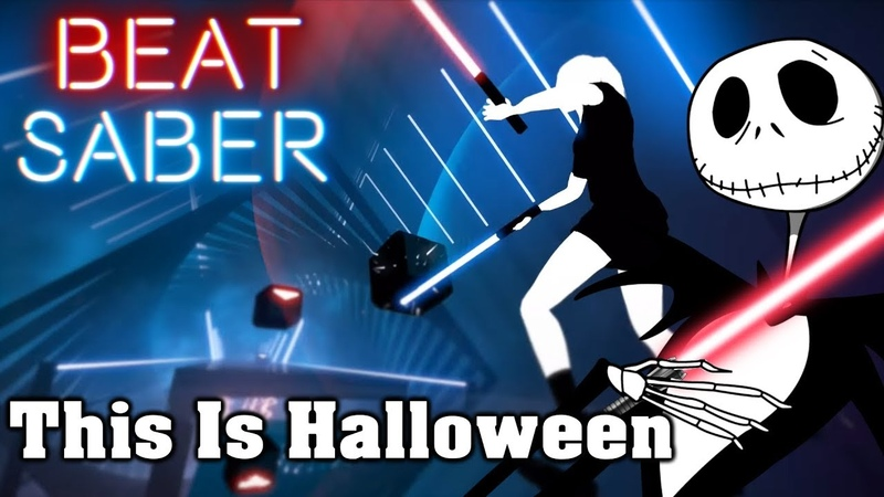 Beat Saber - This Is Halloween - Marilyn Manson (custom song)   FC