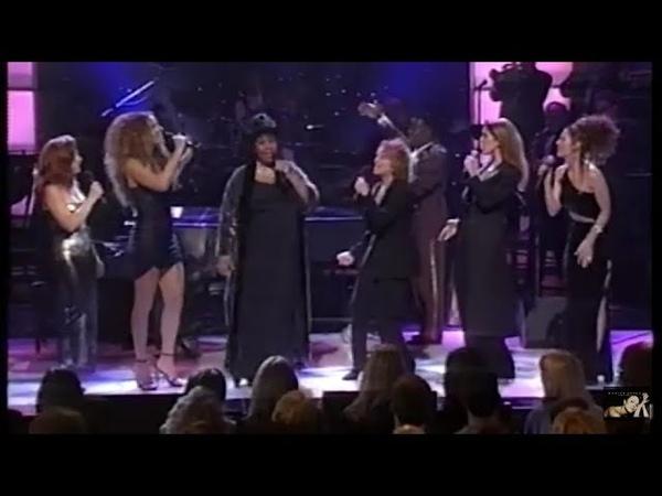 RARE: Mariah Carey ft. Aretha Franklin - Natural Woman (Live from Divas Live 98)
