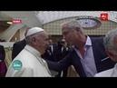 Papa Francisco Que Mirko te contagie ternura Por el Mundo 2018