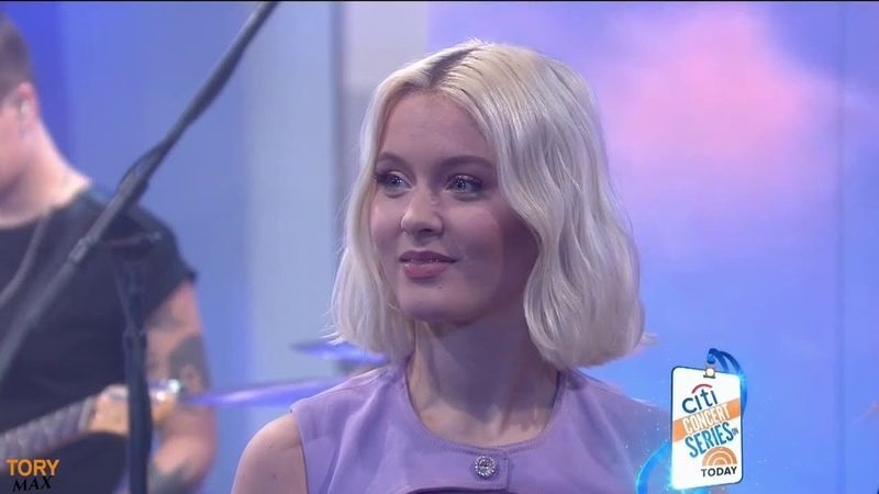 Zara Larsson performs Ruin My Life (LIVE on Today Show 5 November 2018)