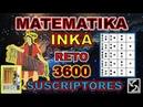 Matemática Inka Reto 3600 suscriptores