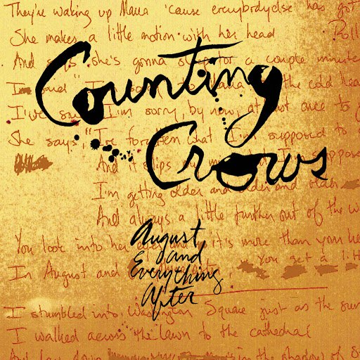 Counting Crows альбом August And Everything After