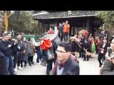 Новогодние гуляния в Хуанду Дун - деревне народности Дун или Донг.