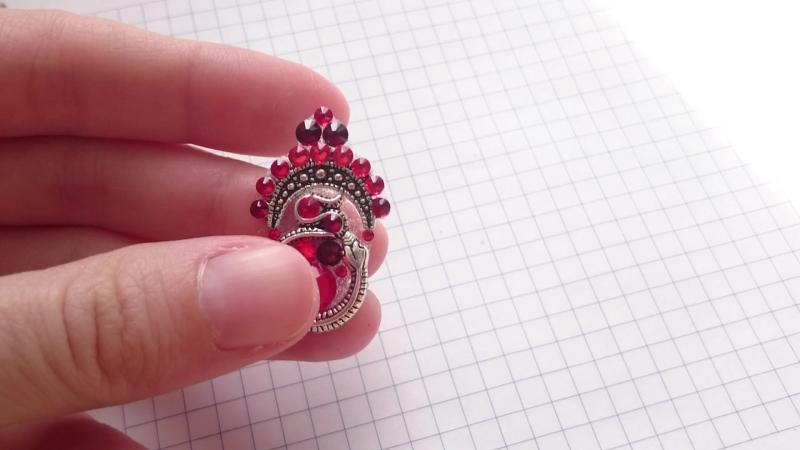 Бинди Супер змейка в красном