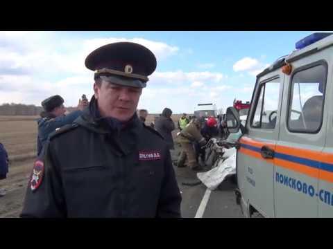В Увельском районе Челябинской области произошло ДТП в котором 3 человека погибли и 6 получили травм