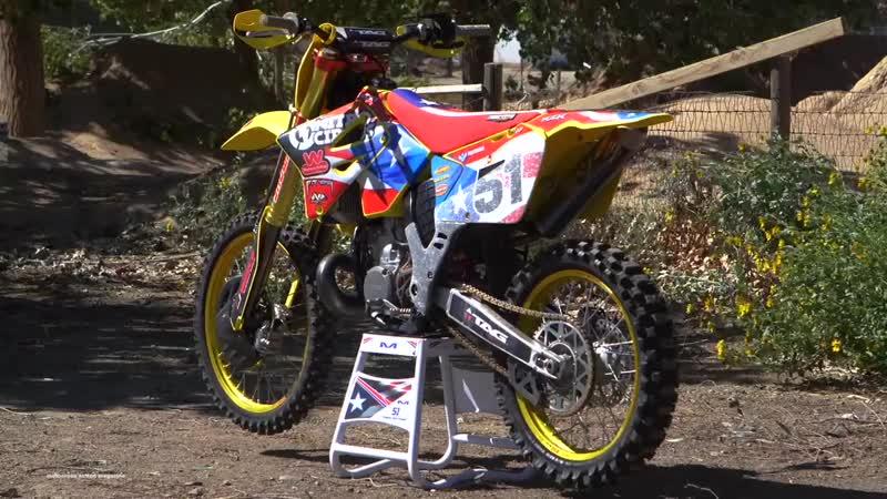 Travis Pastranas Suzuki RM250