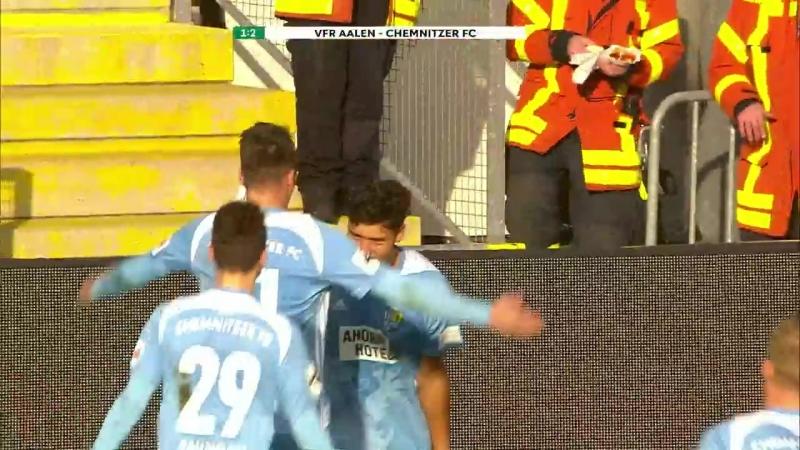 Highlights VfR Aalen - Chemnitzer FC