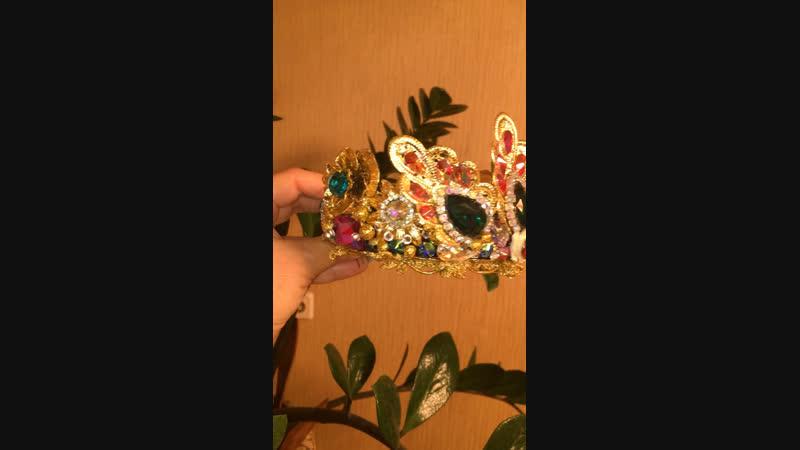 Корона для принцессы от Tesoro by Lana Ferenets