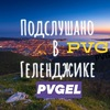 ПОДСЛУШАНО В ГЕЛЕНДЖИКЕ PVG  #PVGEL