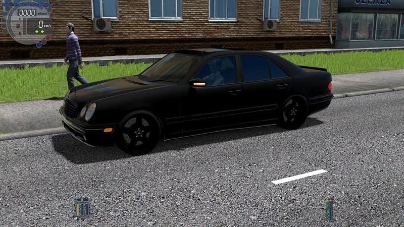 City Car Driving - Mercedes-Benz W210 E55 AMG | Fast Driving