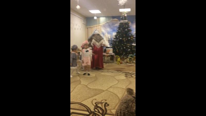 Новогодний утренник😘🎄❄️Мой любимый поросёнок😘😘😘