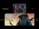 The Hobbit Side-by-Side- Rankin-Bass (77) Peter Jackson (12-14)