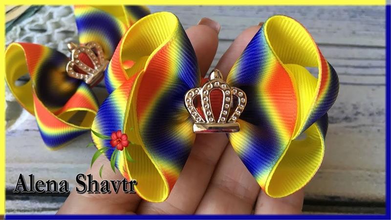 Яркие🎀маленькие🎀бантики🎀7 см🎀🎀МК🎀Laço de fita🎀Ribbon bow