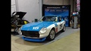 1978 Datsun 280Z 15 Car in Race colors Blue White SCCA Racecar My Car Story with Lou Costabile