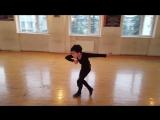 The Georgian _Little Stars_ Children National Ballet. _Adjarian dance_