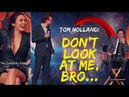 Avengers Infinity War - Tom Holland Makes Fun of Tom Hiddleston - Funny Interview 2018