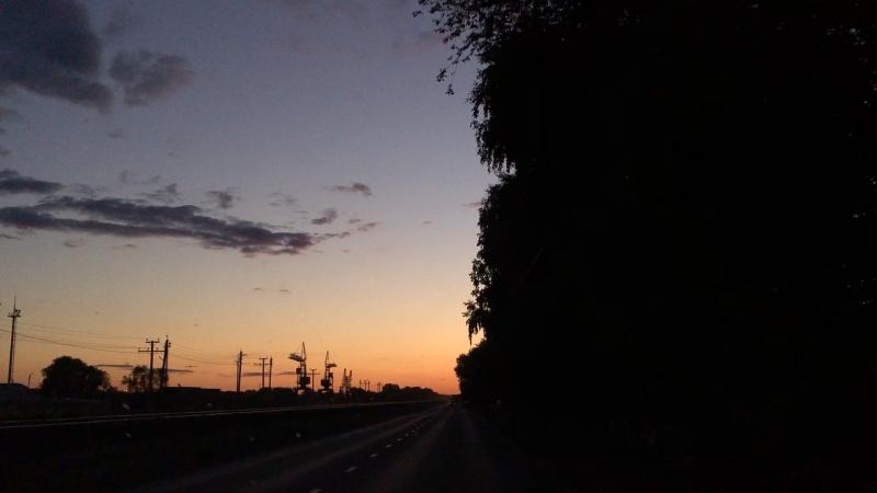Солнце вдаль провожать