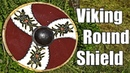 Woodworking Blacksmithing and Leatherworking Making a Viking Round Shield and Testing it