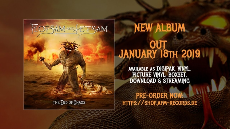 FLOTSAM AND JETSAM - Recover (2018) Official Audio Video AFM Records