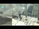 Появилось видео пожара в торговом центре «Афимолл Сити» в Москве