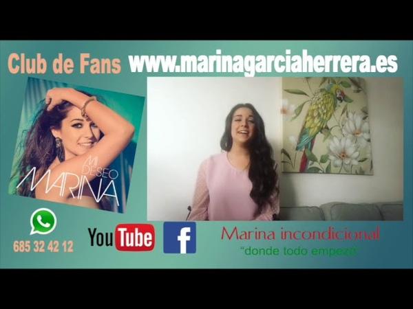 Marina Canción a su guitarra o a su amor? tu decides