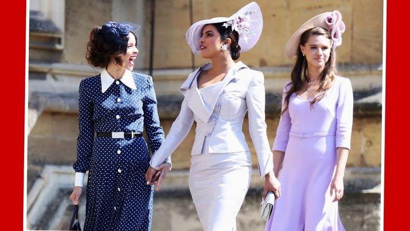 Приянка Чопра на свадьбе принца Гарри и Меган Маркл