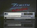 Zenith VCR Commercial - 1984
