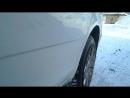 Удаление вмятин без покраски до ремонта Задния левая дверь стоимость работы 3тр