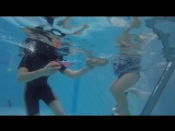 Две Светы в одном бассейне!