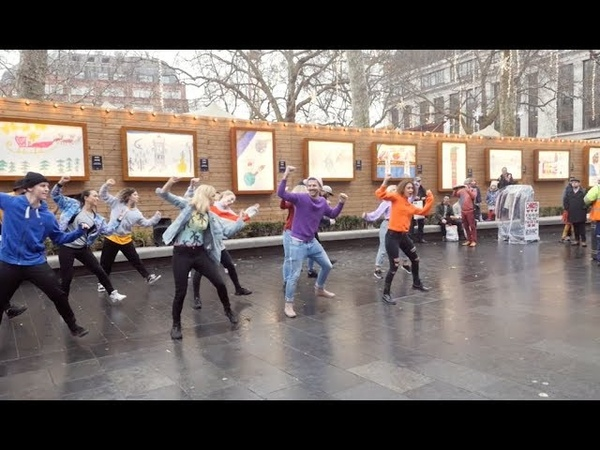 Perfect Proposal Flash Mob in Leicester Square